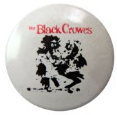 The Black Crowes - 'Crows White' Button Badge